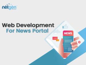 web design for news website